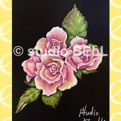 画像1: studio BELL【はじめて描く薔薇の花】★★初級・動画のみ・約80分